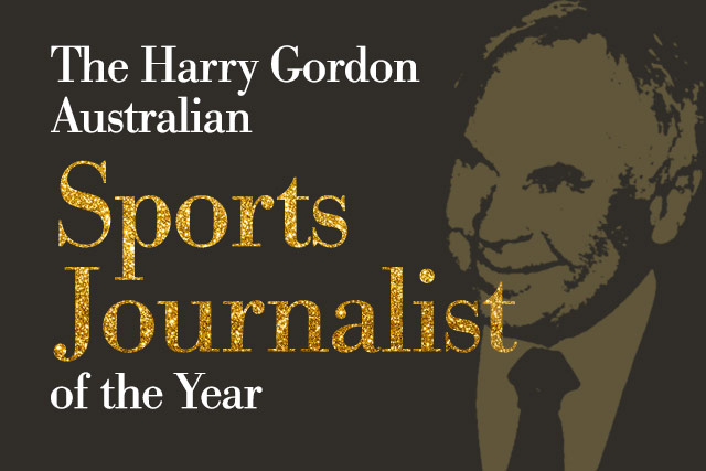 The 2018 Harry Gordon Australian Sports Journalist of the